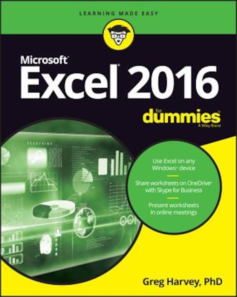 Excel 2016 for Dummies, Paperback