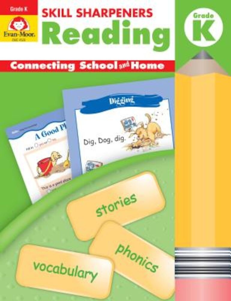Skill Sharpeners Reading Grade K, Paperback