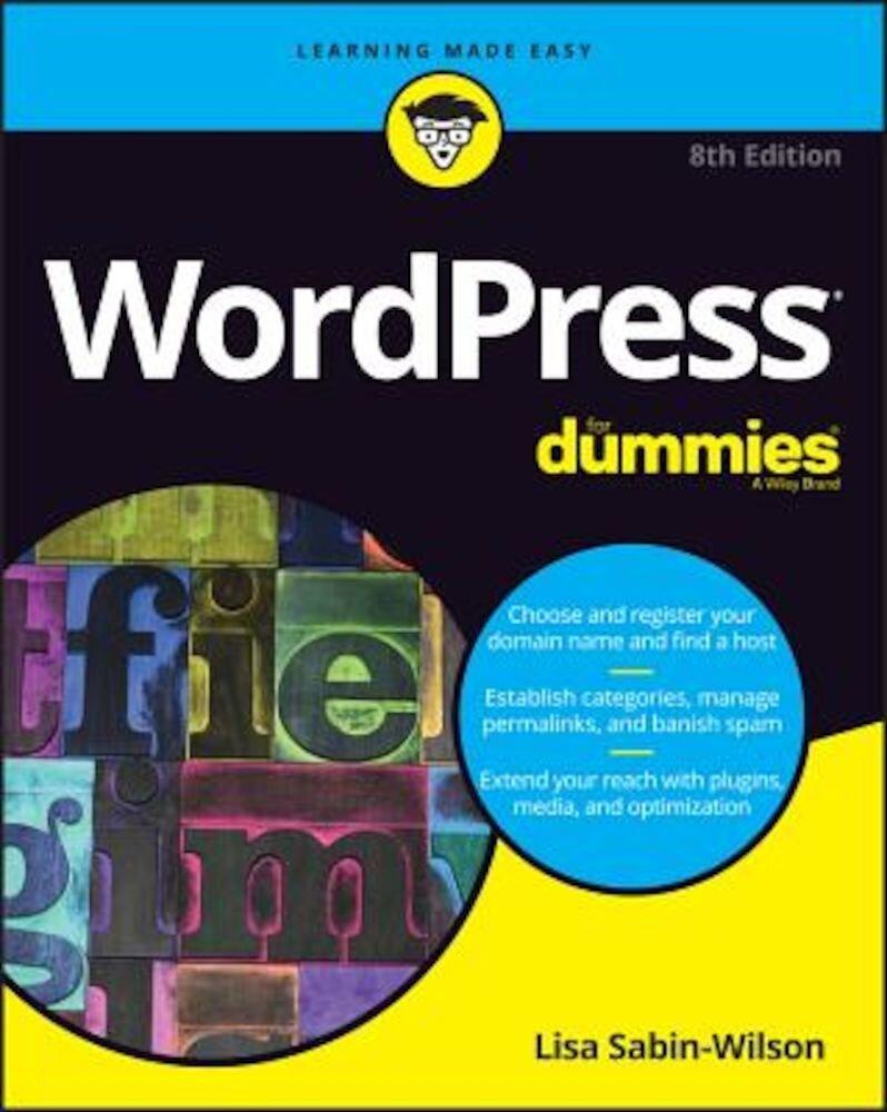 Wordpress for Dummies, Paperback