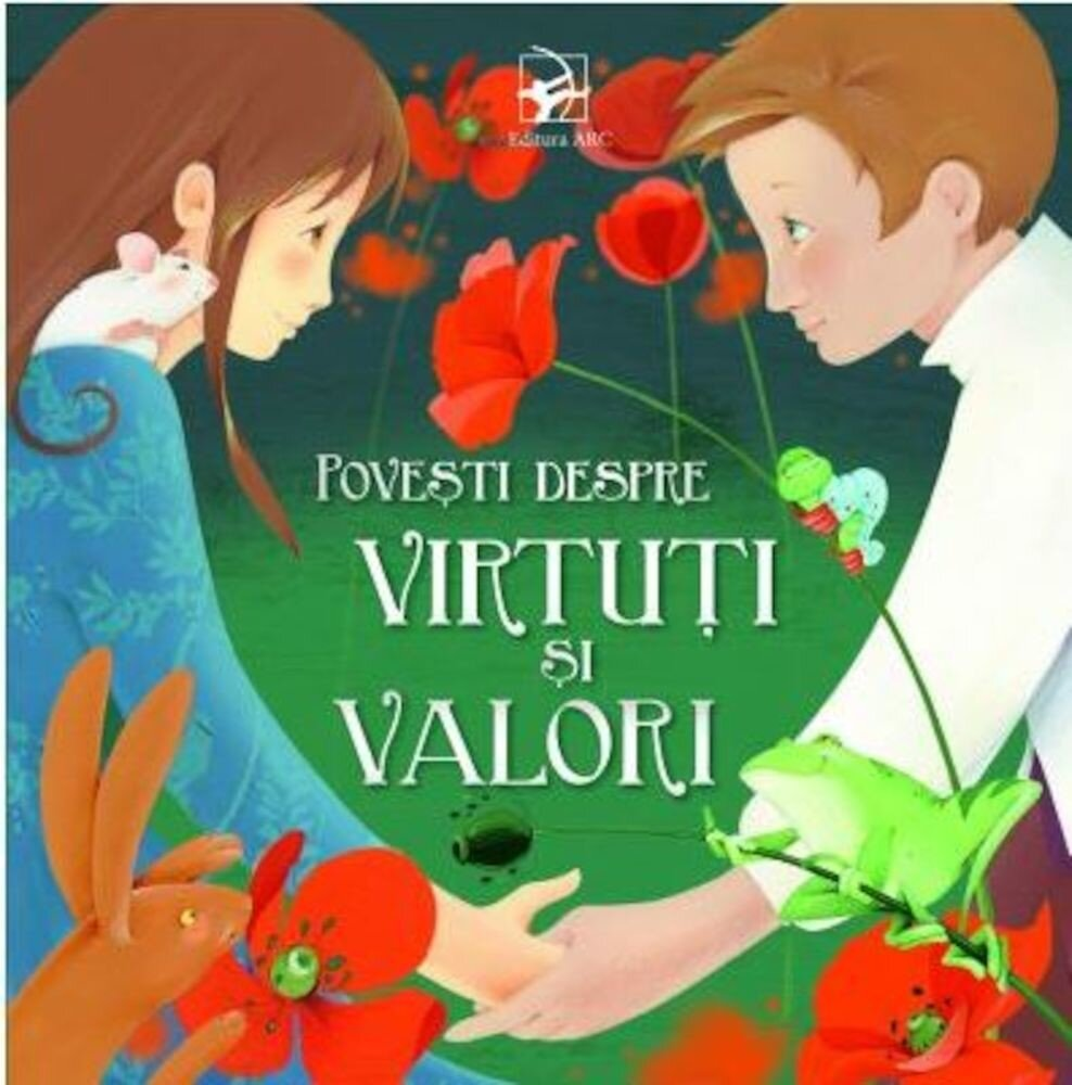 Coperta Carte Povesti despre virtuti si valori