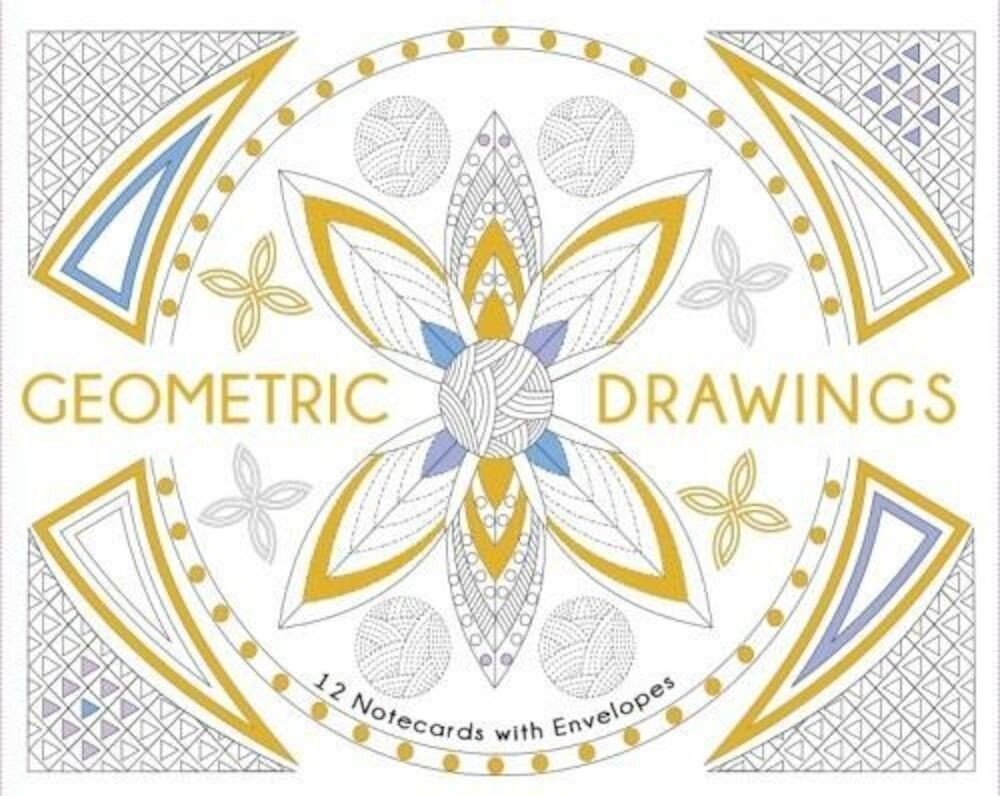 Geometric Drawings. 12 notecards whit envelopes