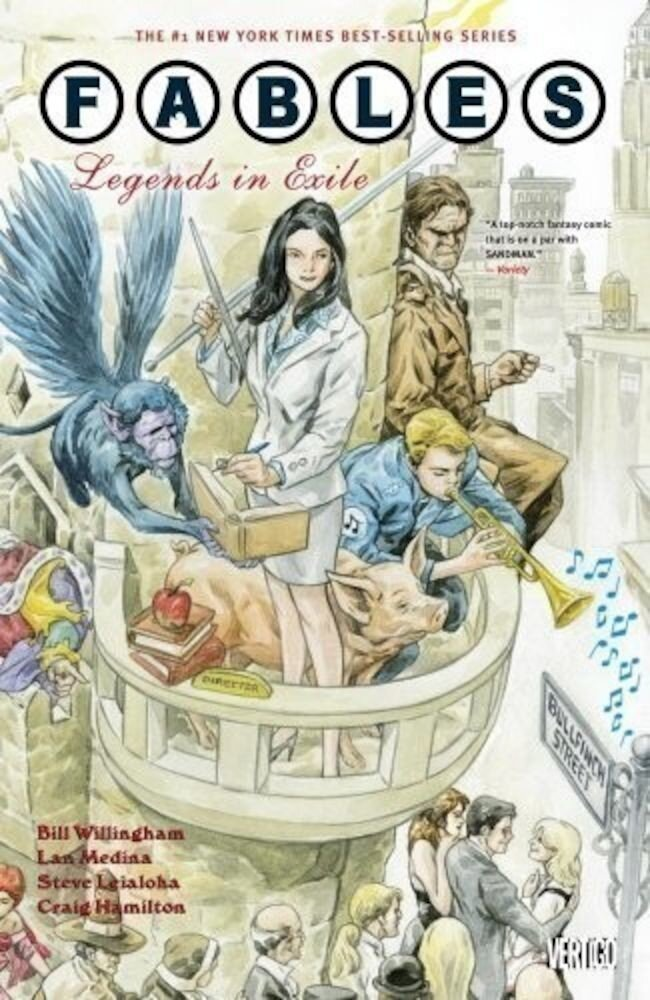 Fables Vol. 1: Legends in Exile (New Edition) Graphic Novels