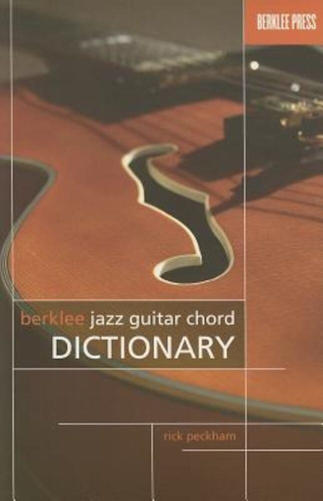 Berklee Jazz Guitar Chord Dictionary, Paperback