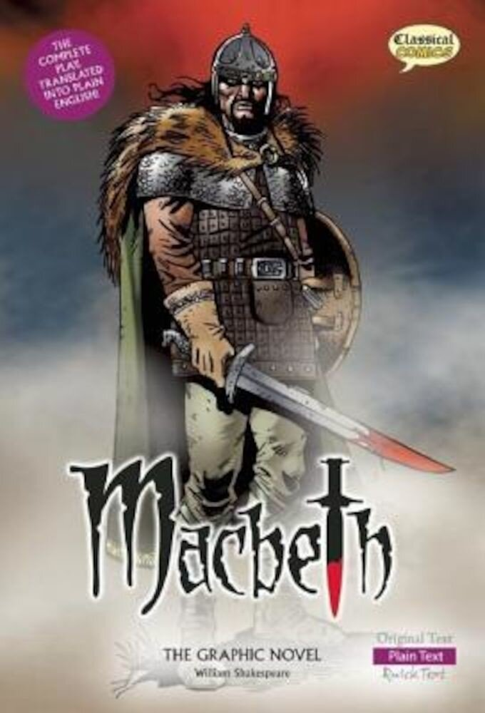 Macbeth: The Graphic Novel: Plain Text, Paperback