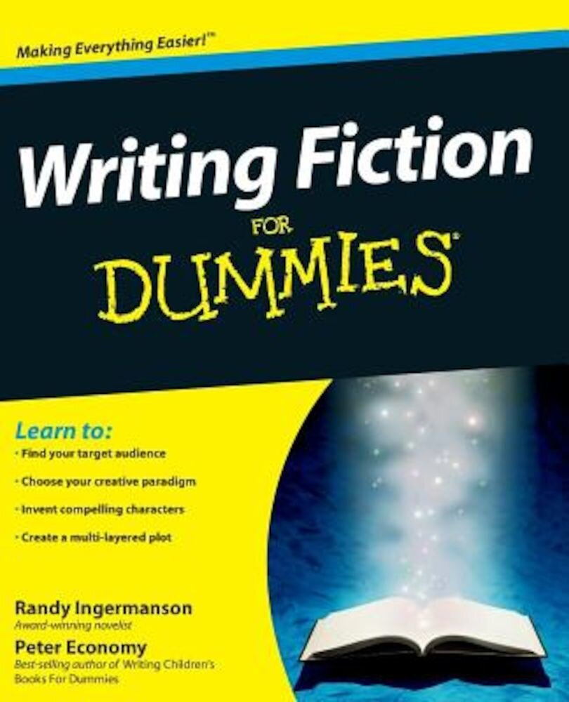 Writing Fiction for Dummies, Paperback