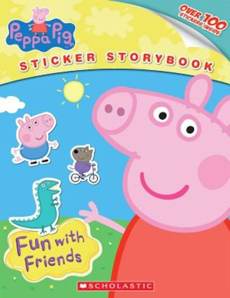 Peppa Pig: Fun with Friends, Paperback