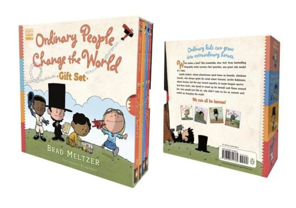 Ordinary People Change the World Gift Set, Hardcover