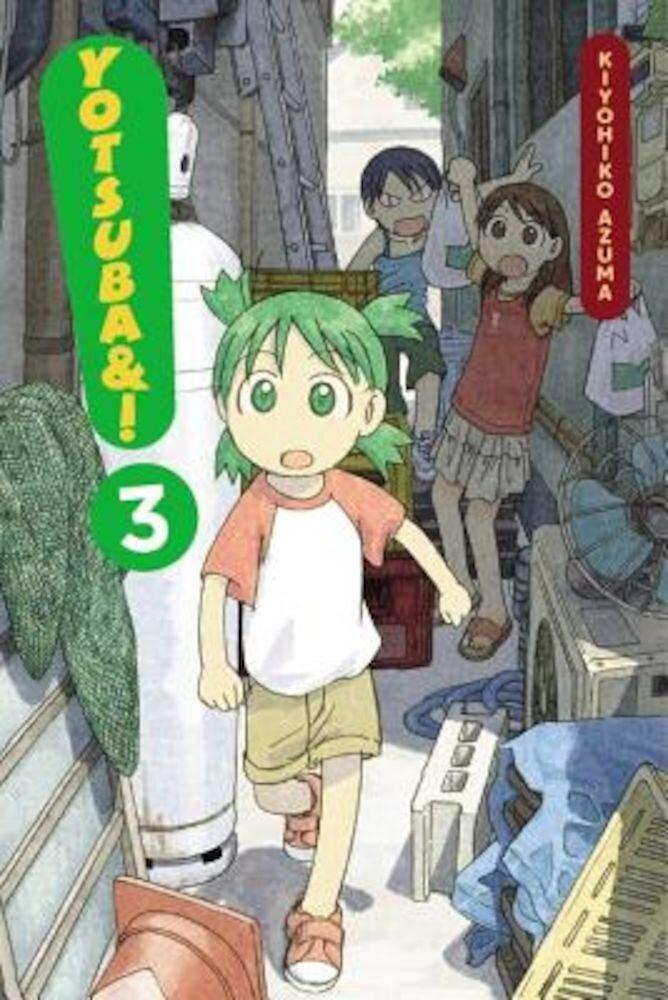 Yotsuba&!, Volume 3, Paperback