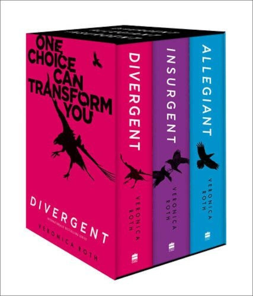 Divergent Box Set: Divergent. Insurgent. Allegiant.