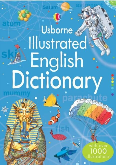 Usborne Illustrated English Dictionary with over 1000 Illustrations Paperback