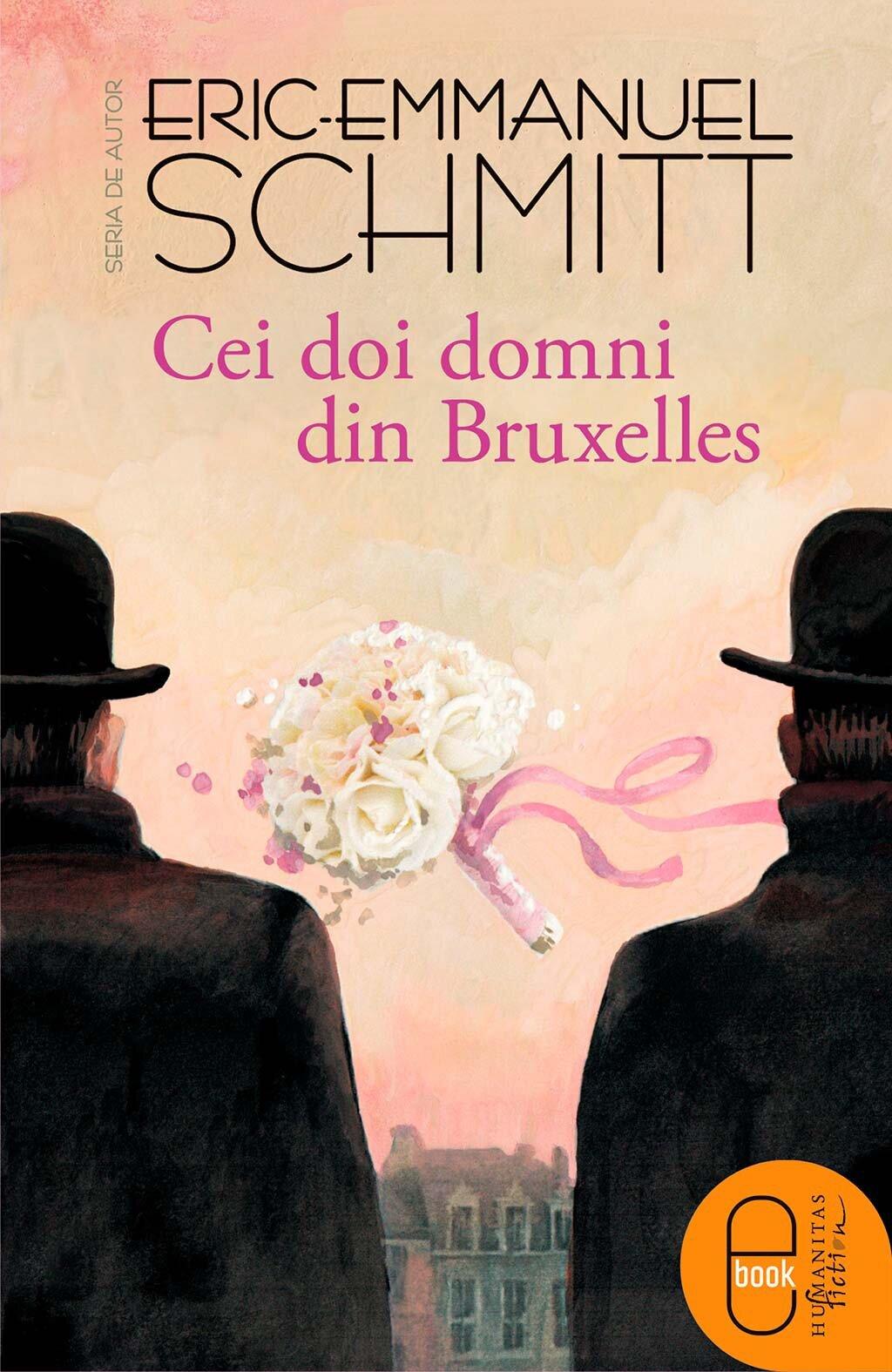 Coperta Carte Cei doi domni din Bruxelles