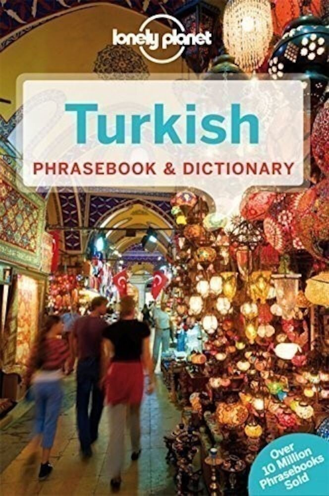 Coperta Carte Lonely Planet Turkish Phrasebook and Dictionary