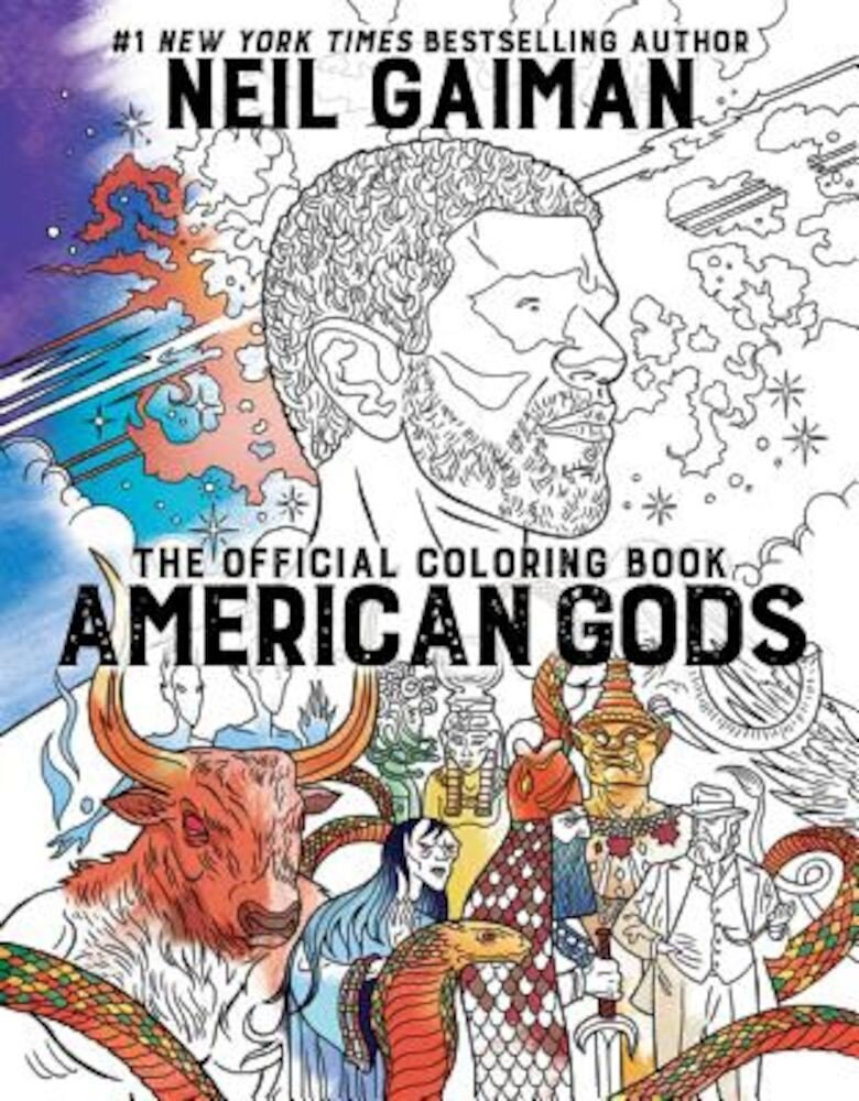 American Gods: The Official Coloring Book, Paperback