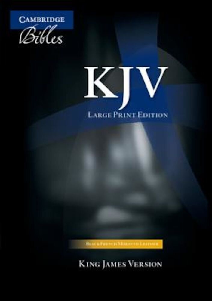 Large Print Text Bible-KJV, Hardcover