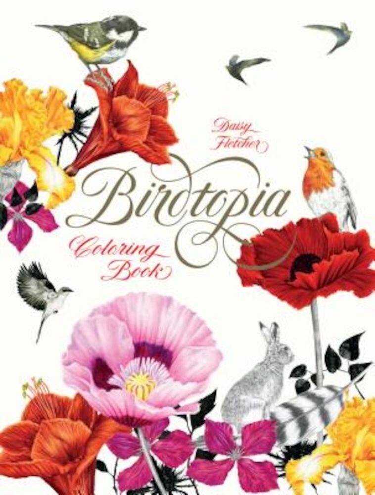 Birdtopia: Coloring Book, Paperback