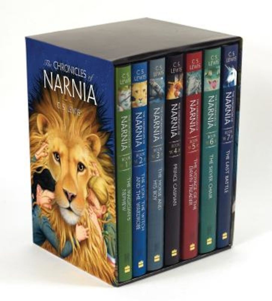 The Chronicles of Narnia Box Set: 7 Books in 1 Box Set, Hardcover
