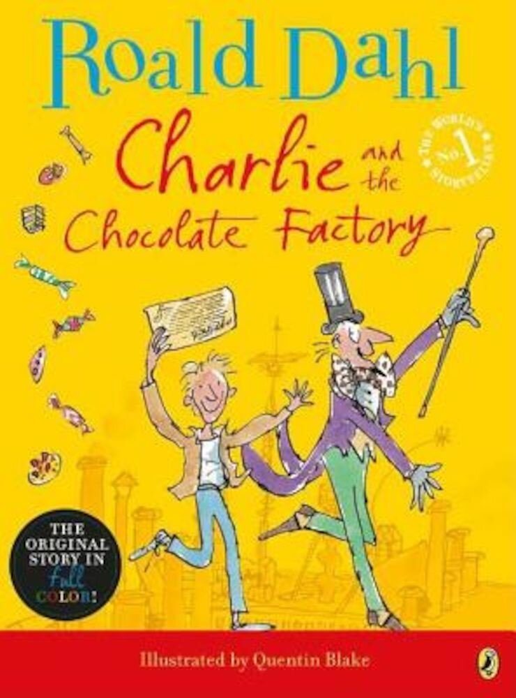 Charlie and the Chocolate Factory, Paperback
