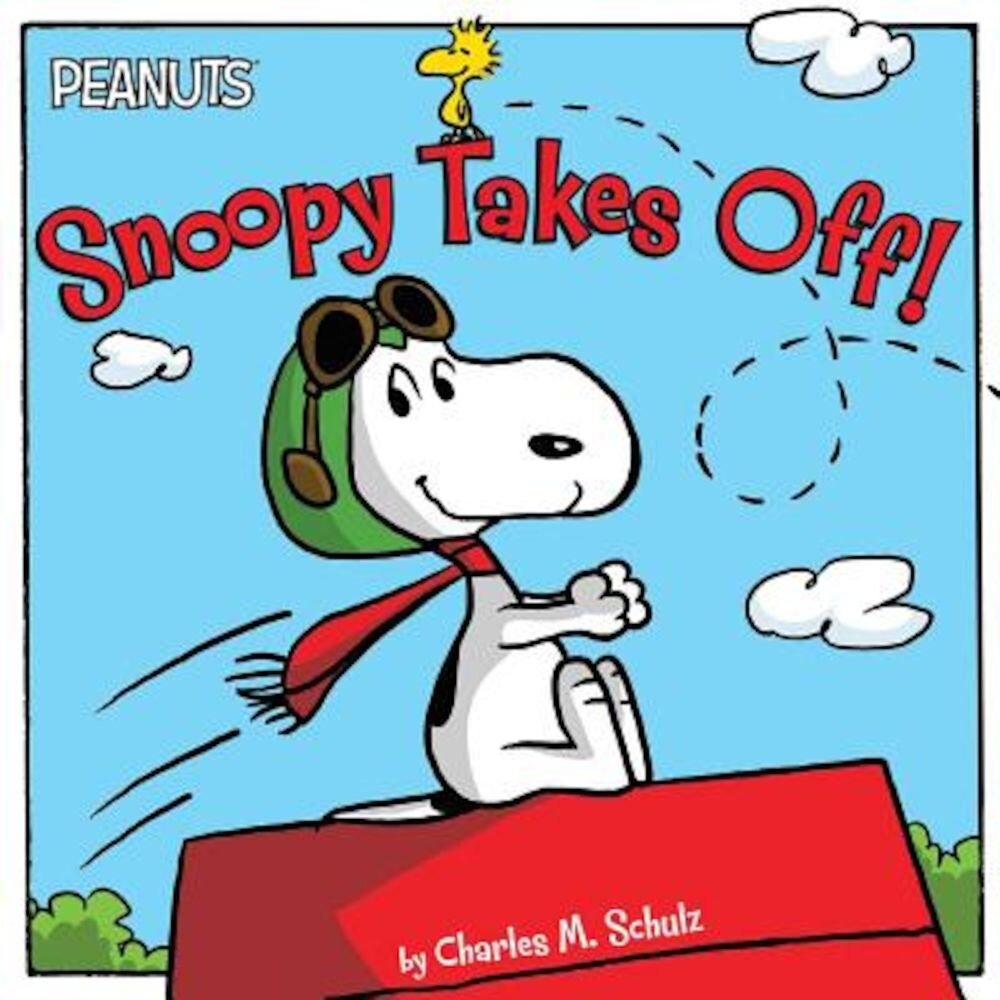 Snoopy Takes Off!, Paperback