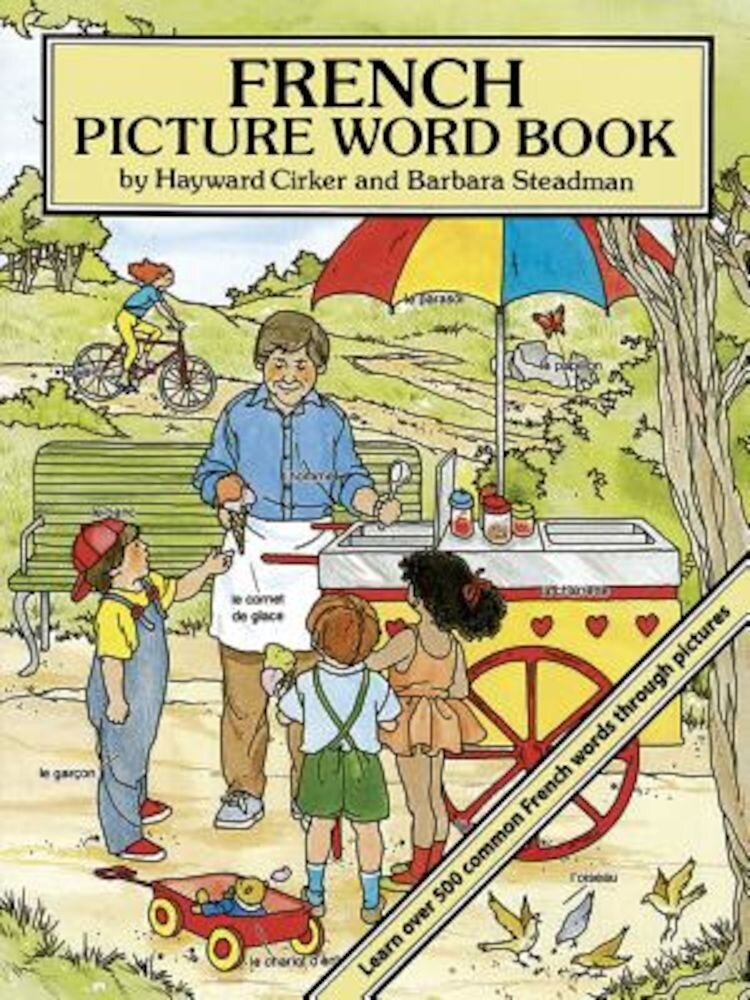 French Picture Word Book, Paperback