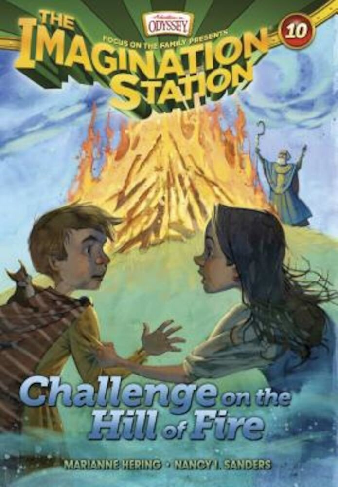 Challenge on the Hill of Fire, Paperback