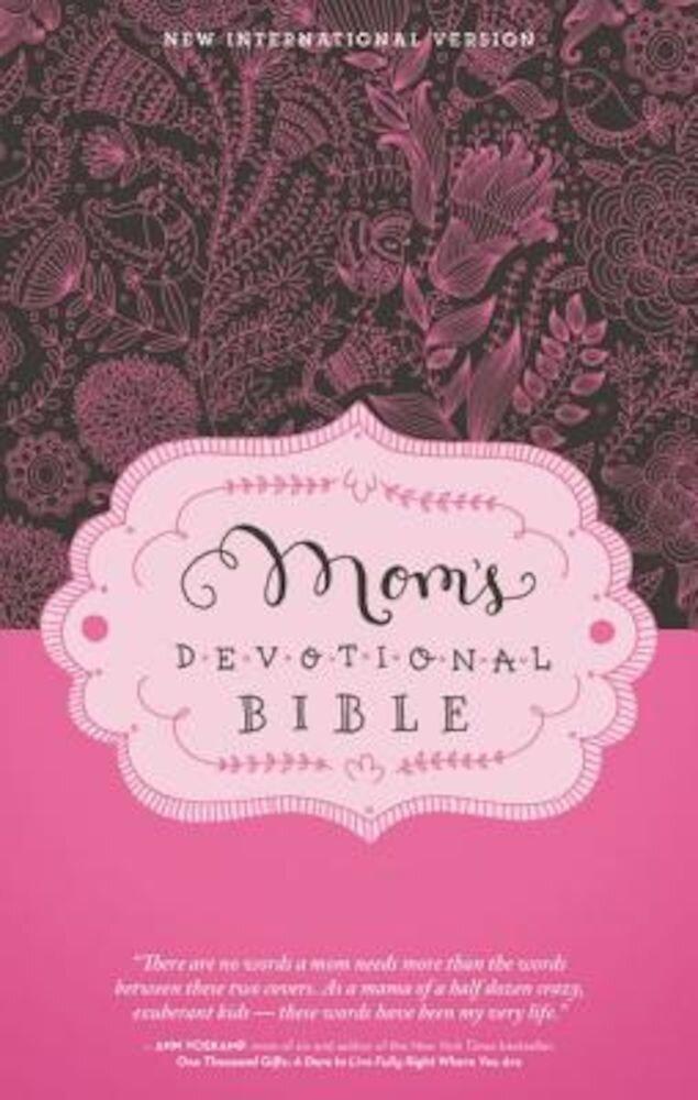 Mom's Devotional Bible-NIV, Hardcover