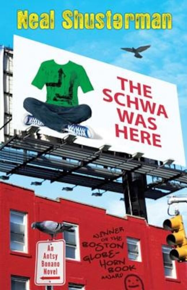 The Schwa Was Here, Paperback