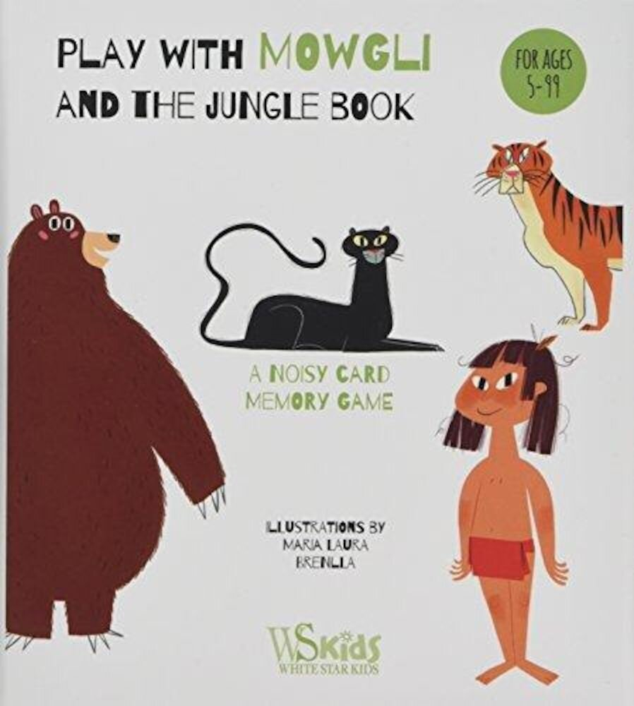 Card Game. Play With Mowgli And The