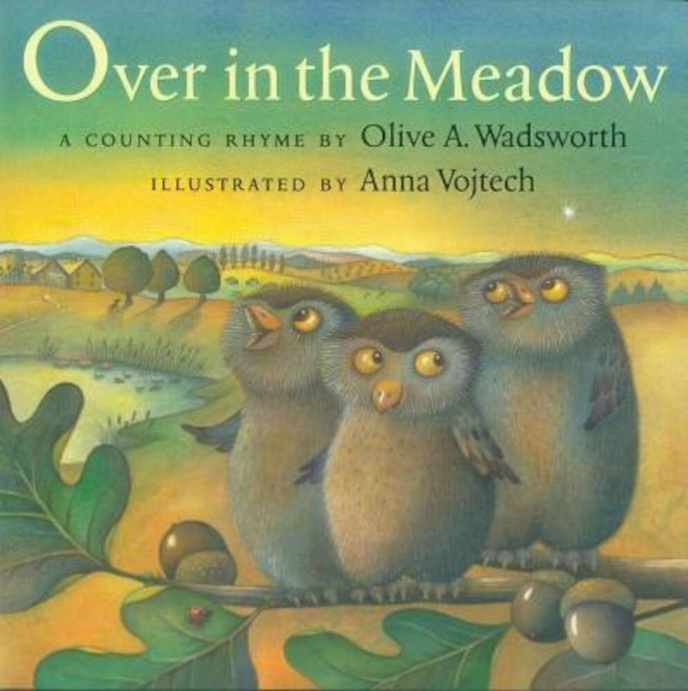 Over in the Meadow: A Counting Rhyme, Hardcover