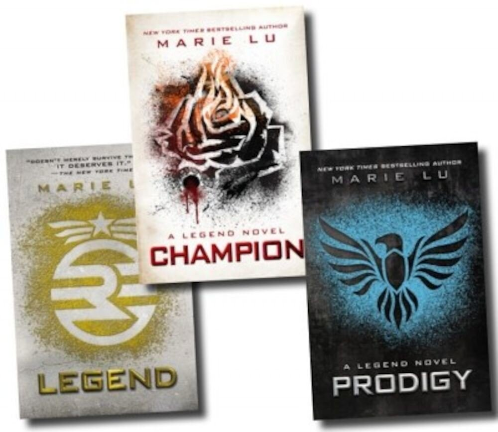 The Legend Trilogy 3 Books Collection Set