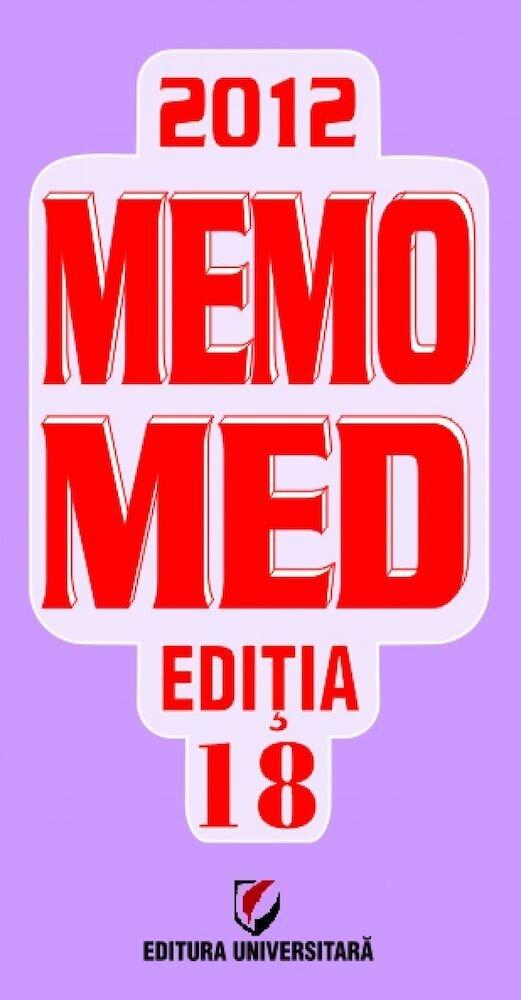 Coperta Carte Memomed 2012