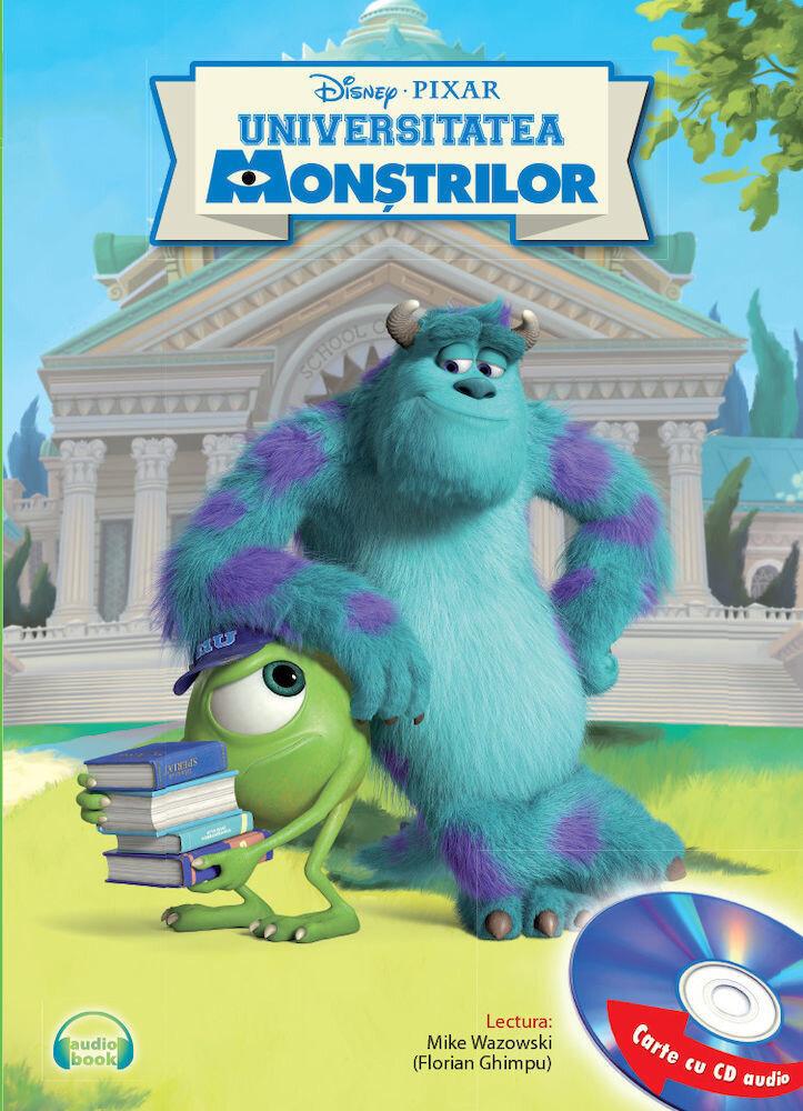 Universitatea monstrilor. Carte cu CD audio