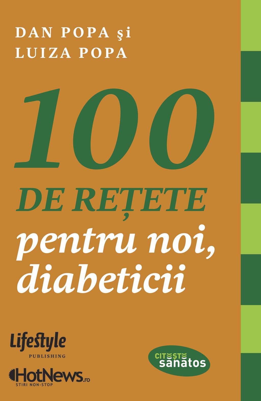 100 de retete pentru noi, diabeticii (eBook)