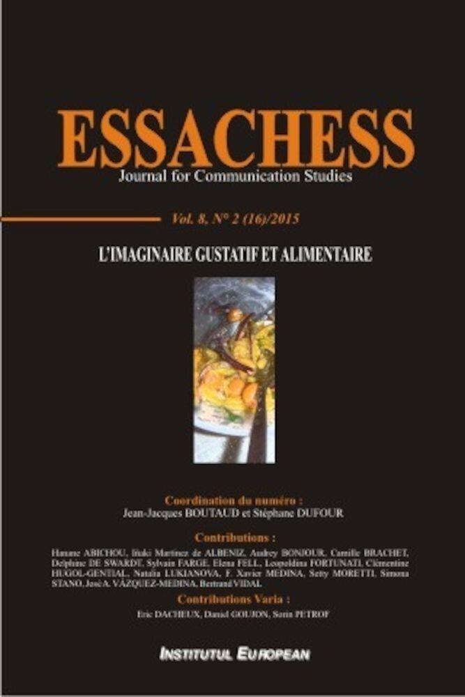 Essachess - Limaginaire Gustatif et Alimentaire