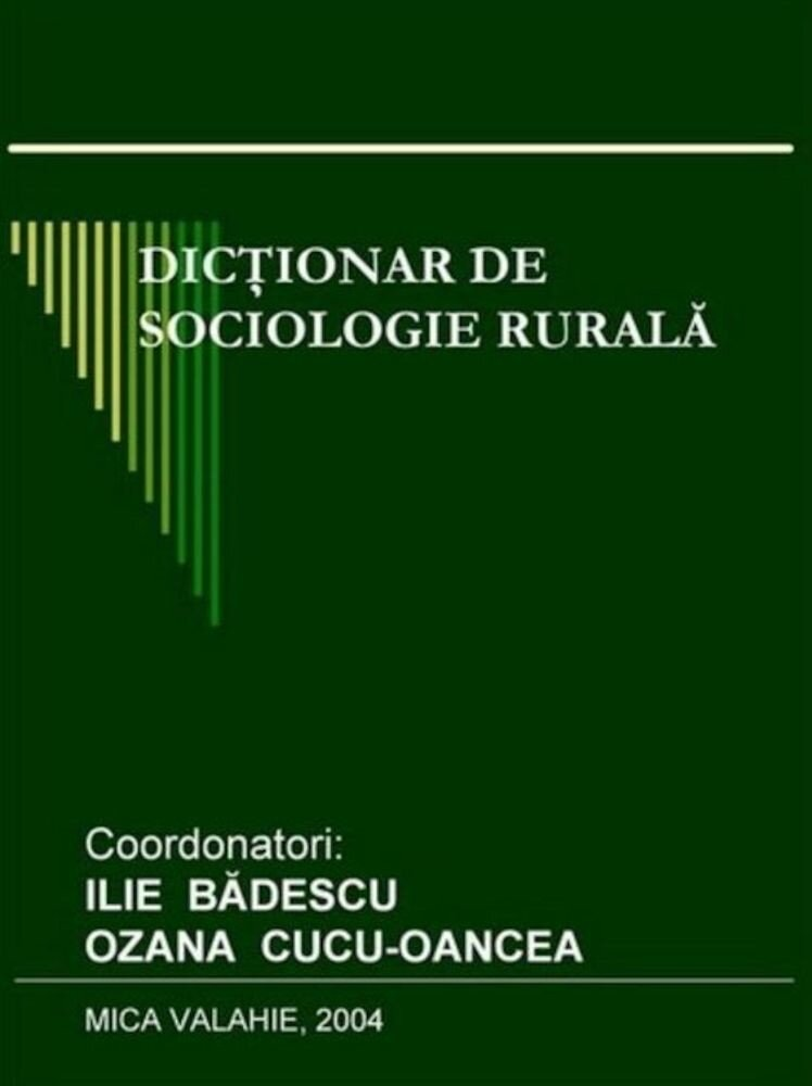 Dictionar de sociologie rurala