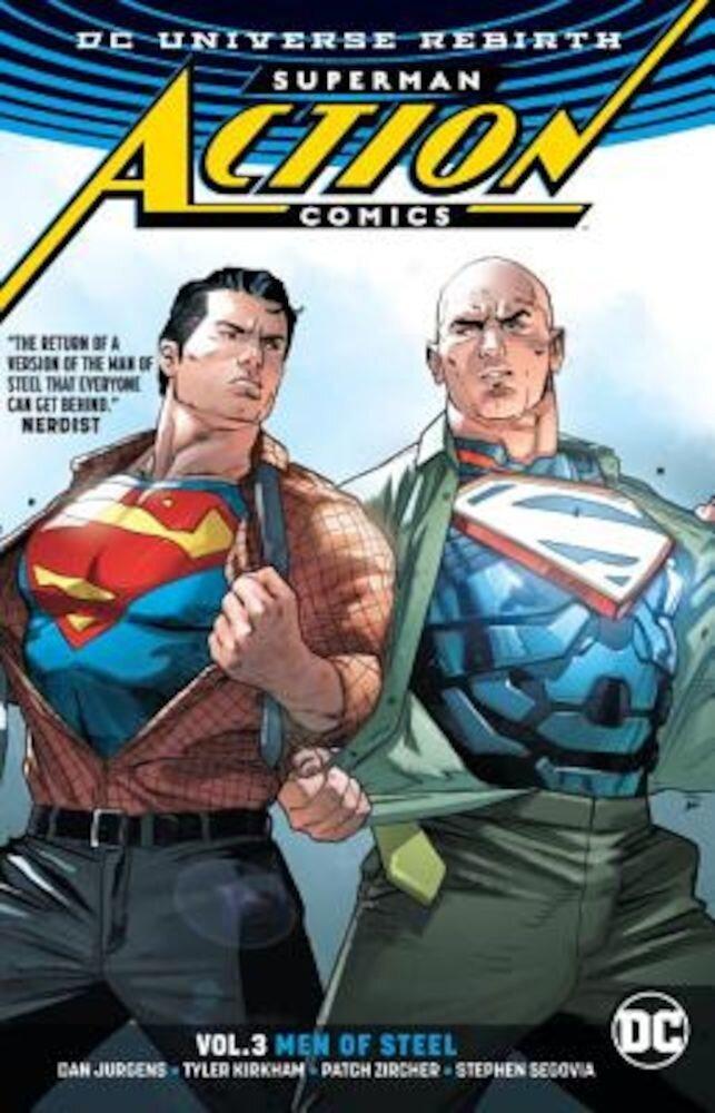 Superman: Action Comics Vol. 3: Men of Steel (Rebirth), Paperback