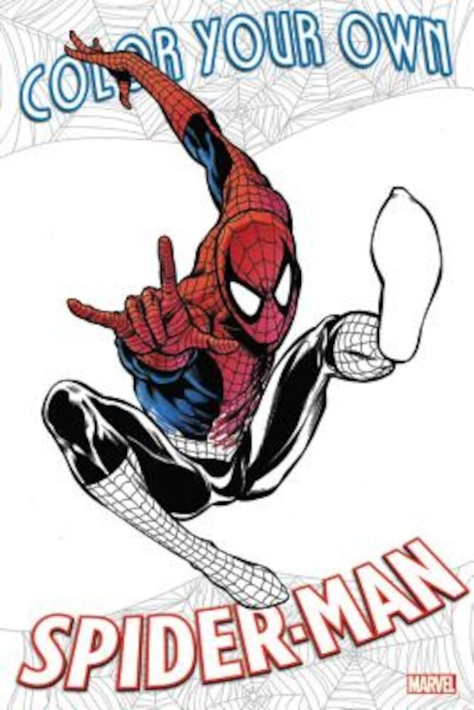 Color Your Own Spider-Man, Paperback