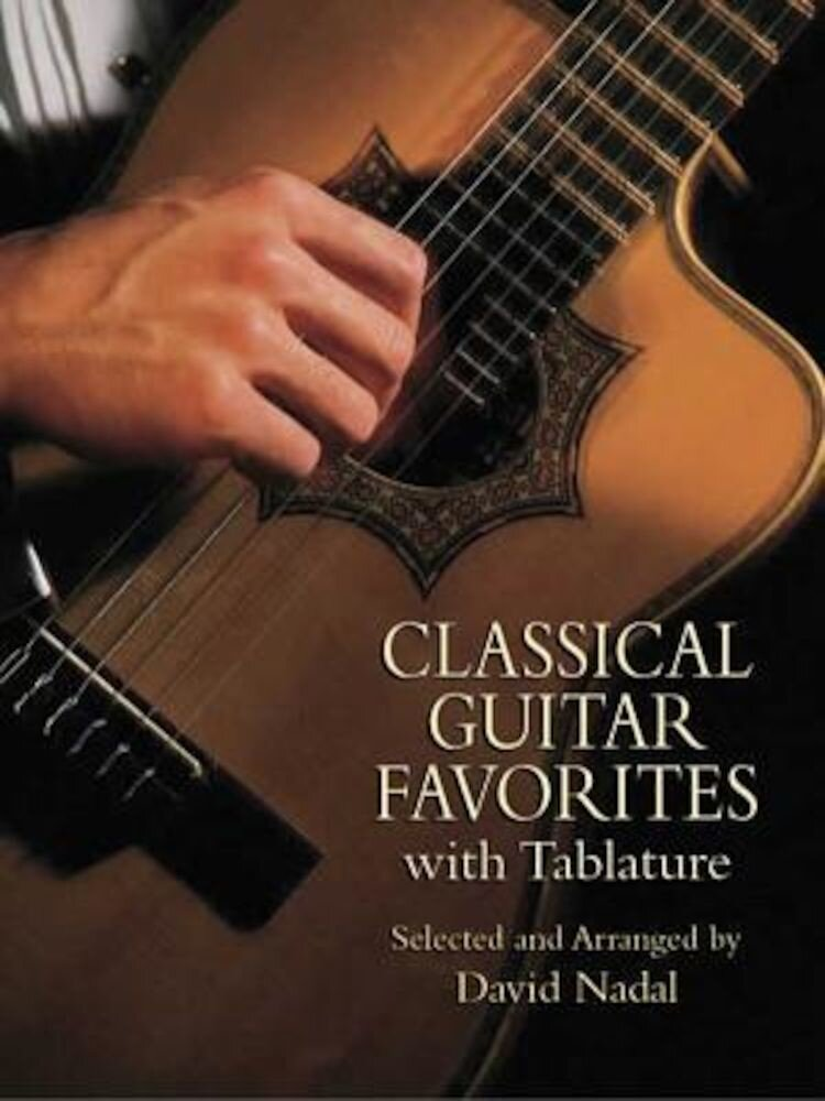 Classical Guitar Favorites with Tablature, Paperback