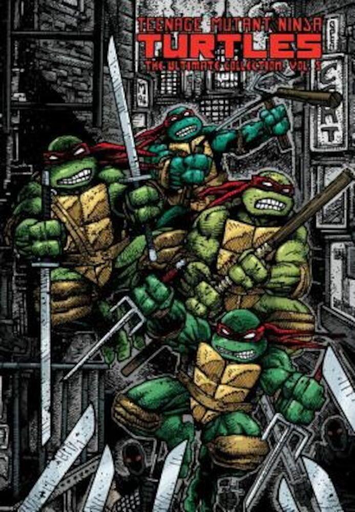 Teenage Mutant Ninja Turtles: The Ultimate Collection, Volume 5, Hardcover