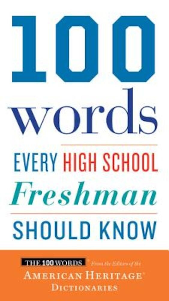 100 Words Every High School Freshman Should Know, Paperback