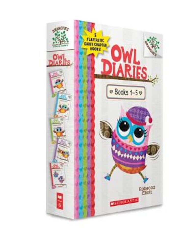 Owl Diaries, Books 1-5: A Branches Box Set, Hardcover