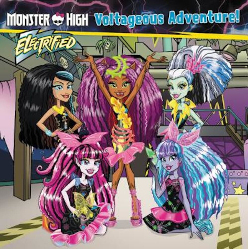 Monster High: Voltageous Adventure!, Paperback