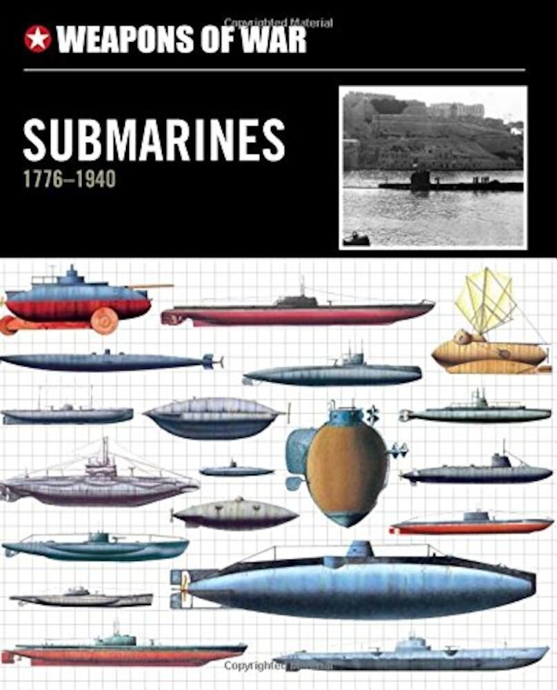 Coperta Carte Weapons of War Submarines 1776-1940