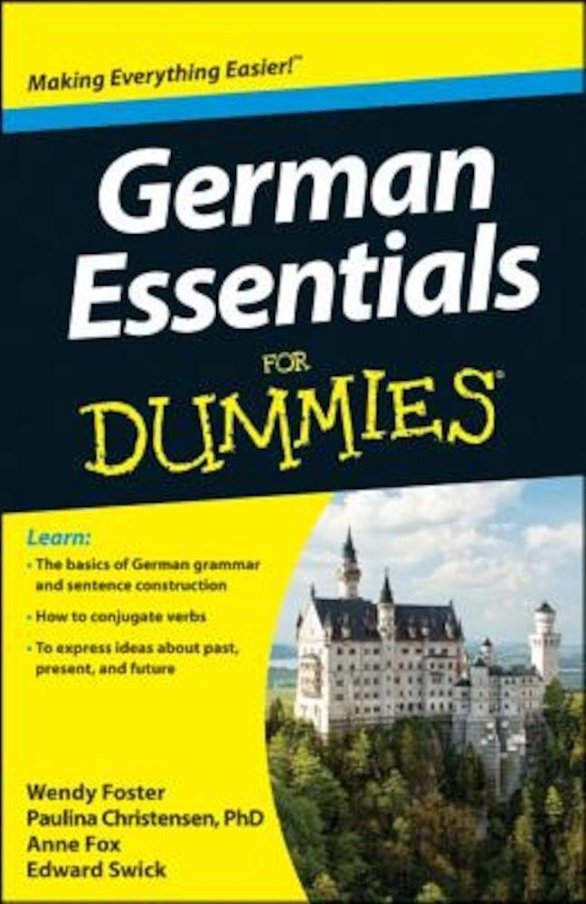 German Essentials for Dummies, Paperback
