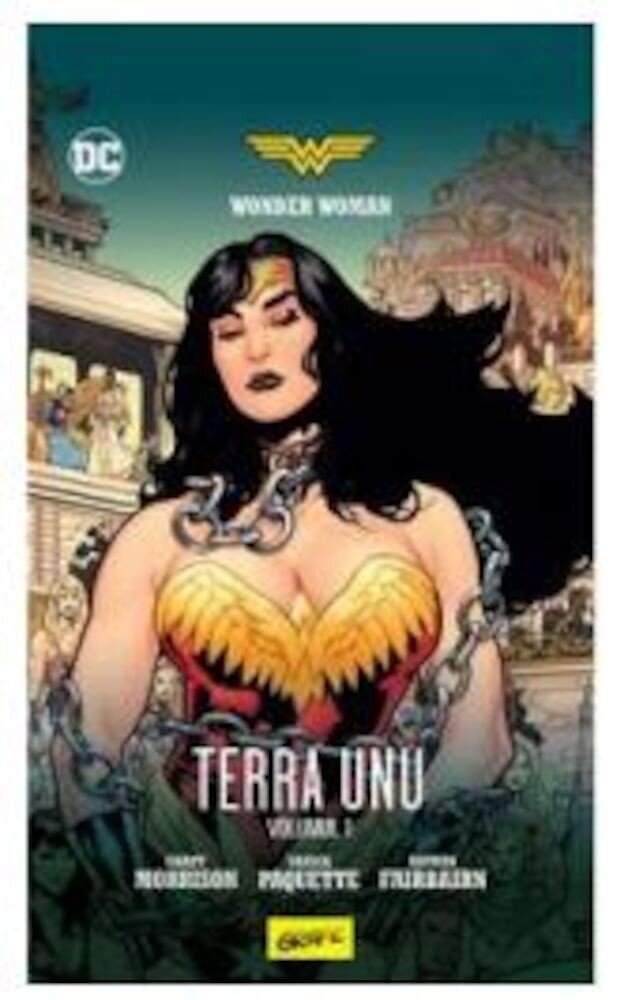 Coperta Carte Wonder Woman: Terra unu.vol 1
