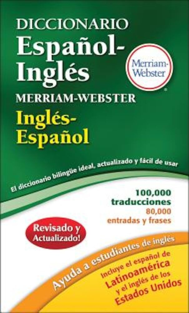 Diccionario Espanol-Ingles Merriam-Webster, Paperback