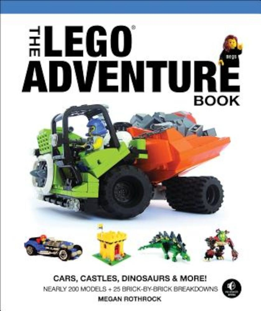 The Lego Adventure Book, Vol. 1: Cars, Castles, Dinosaurs & More!, Hardcover