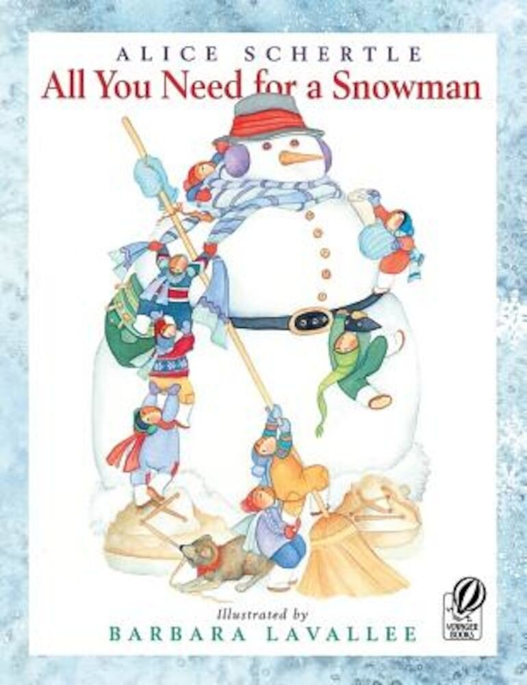 All You Need for a Snowman, Paperback
