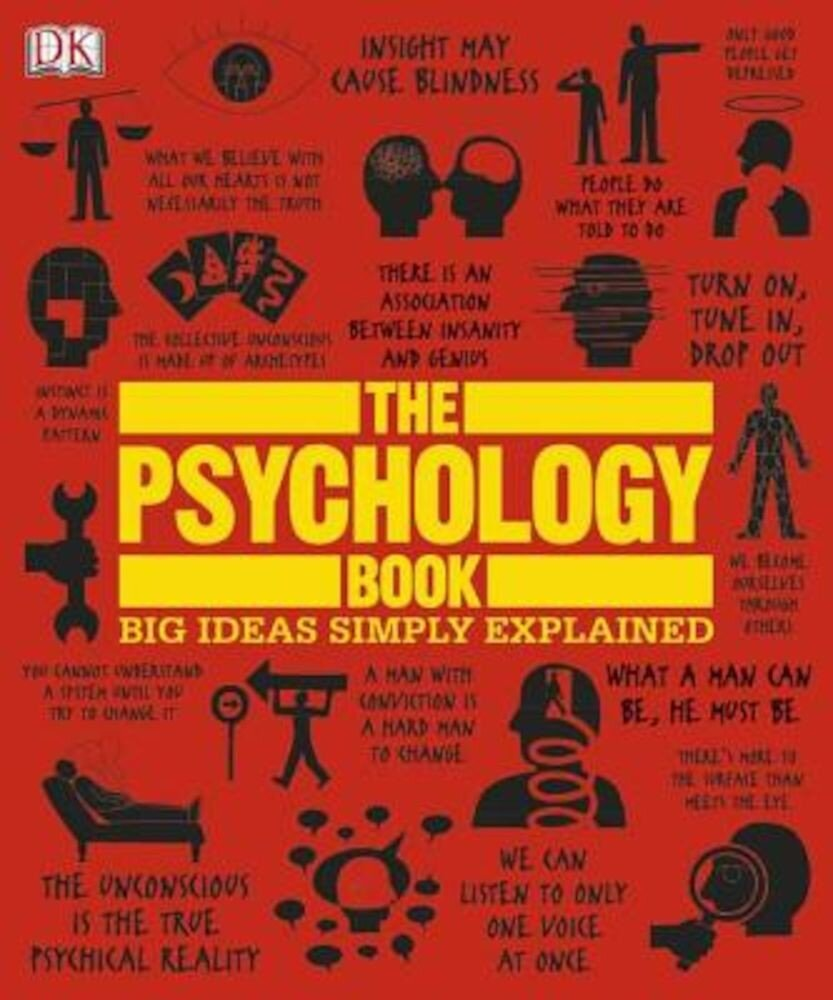 The Psychology Book: Big Ideas Simply Explained, Hardcover
