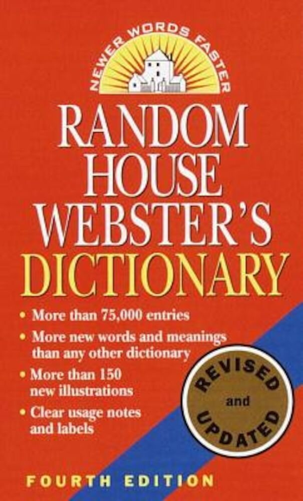 Random House Webster's Dictionary: Fourth Edition, Revised and Updated, Paperback