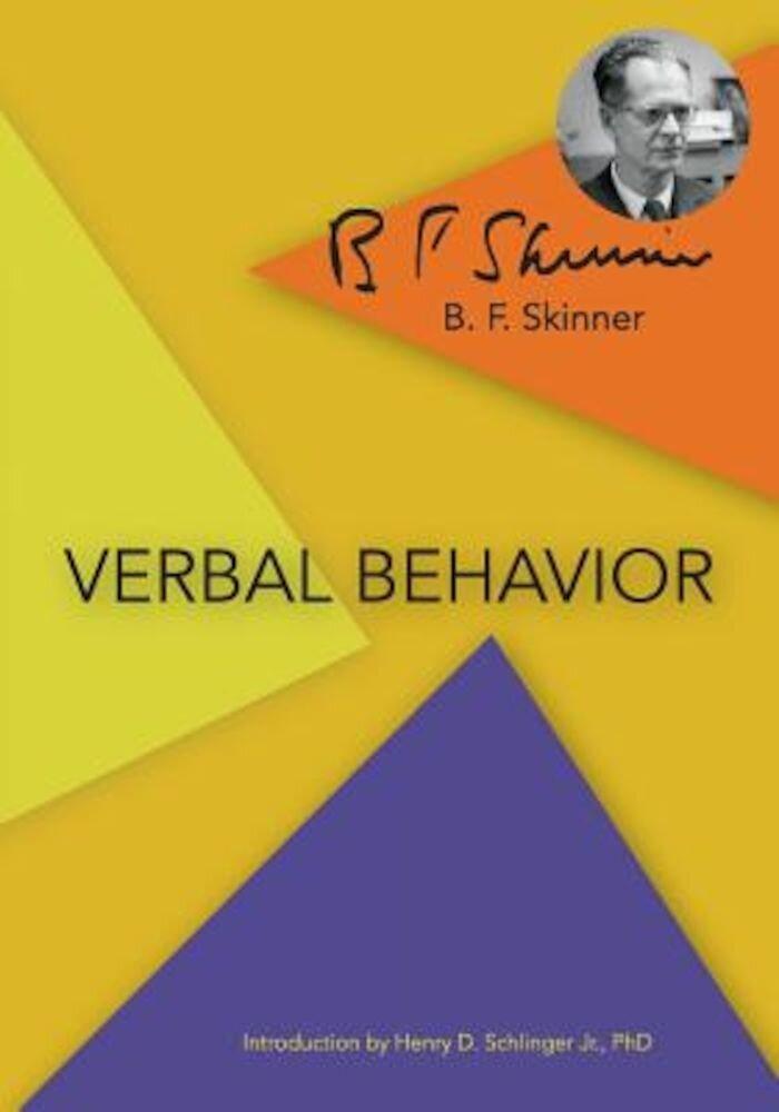 Verbal Behavior, Paperback